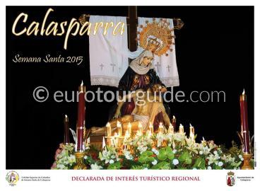 Calasparra Easter Parade Semana Santa Procession Routes 2015