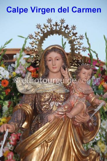 Calpe Virgen del Carmen Fiesta, Costa Blanca North | Euro Tour Guide