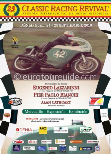 Denia Classic Bike Racing Revival 24th & 25th September 2016