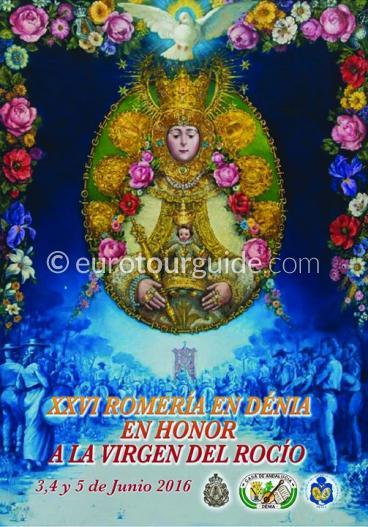 Denia Rocio Romeria 3rd-15th June 2016