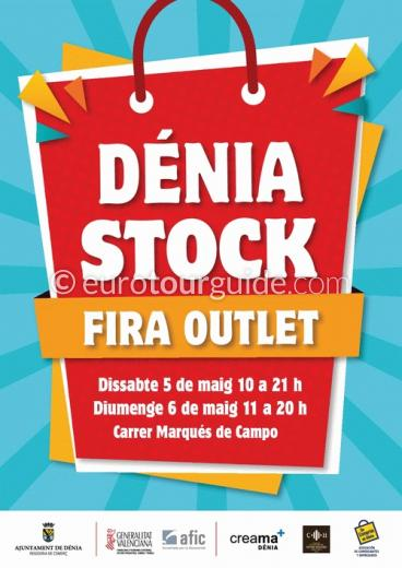 Denia Discount Shopping Stock Feria 5th & 6th May 2018