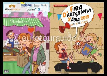 Javea Xabia Artisan Fair Easter 19th-22nd April 2019