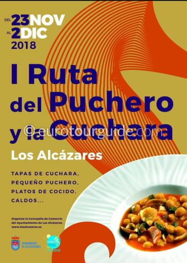Los Alcazares Stew Tapas 23rd November - 2nd December 2018