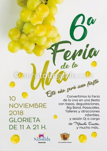 Novelda 6th Grape Fair 10th November 2018