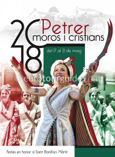 Petrer Moors & Christians Fiesta Programme 17th-21st May 2018