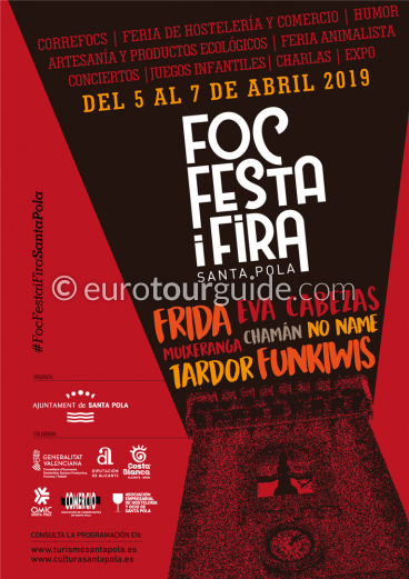 Santa Pola Foc Fair 5th-7th April 2019