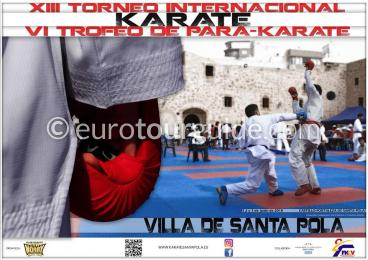 Santa Pola International Karate 1st-3rd June 2018