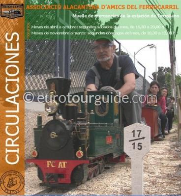 Torrellano, Elche Miniature Steam Train Rides