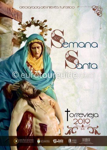 Semana Santa Easter Parade Procession Programme Torrevieja 2019