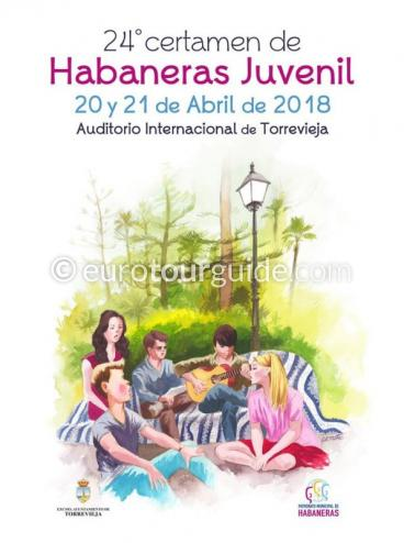 Torrevieja 24th Junior Habaneras Song Competition 20th & 21st April 2018