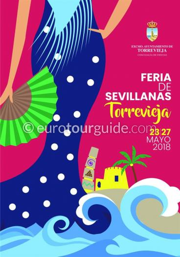 Torrevieja May Fair Feria de Mayo 23rd-27th May 2018