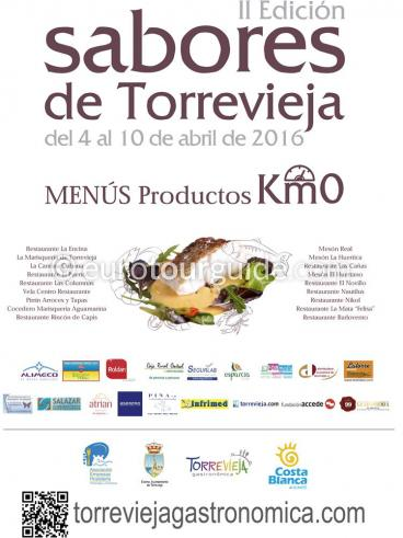 Torrevieja 2nd Sabores Gastronomy 4th-10th April 2016