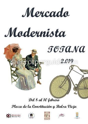 Totana Modernists Market 8th-10th February 2019