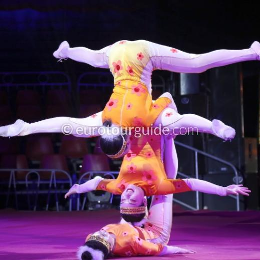 EuroTourGuide Coach Tour Chinese Acrobatic Circus Cartagena 11th January 2020