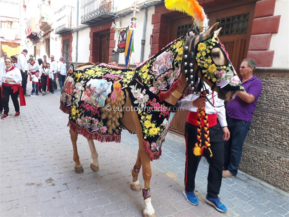 EuroTourGuide Coach Tour 2nd May Caravaca Wine Horses