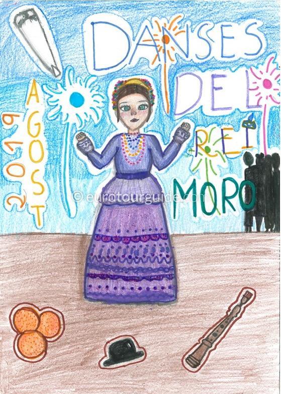 Agost Danses del Rei Moro 26th December 2019 - 1st January 2020
