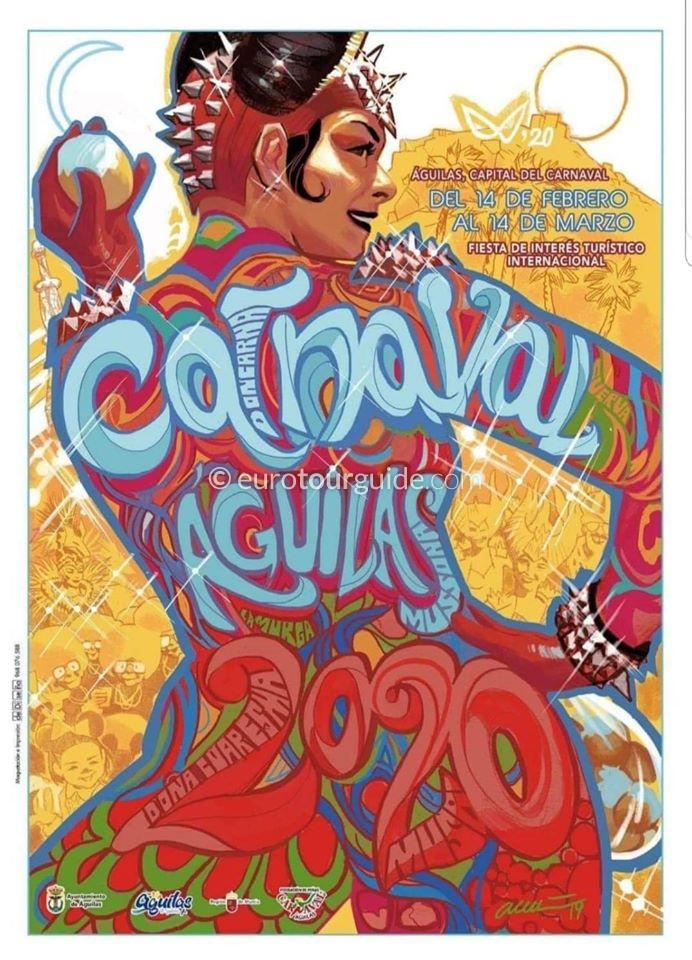 Aguilas Carnival Programme of Parades 2020