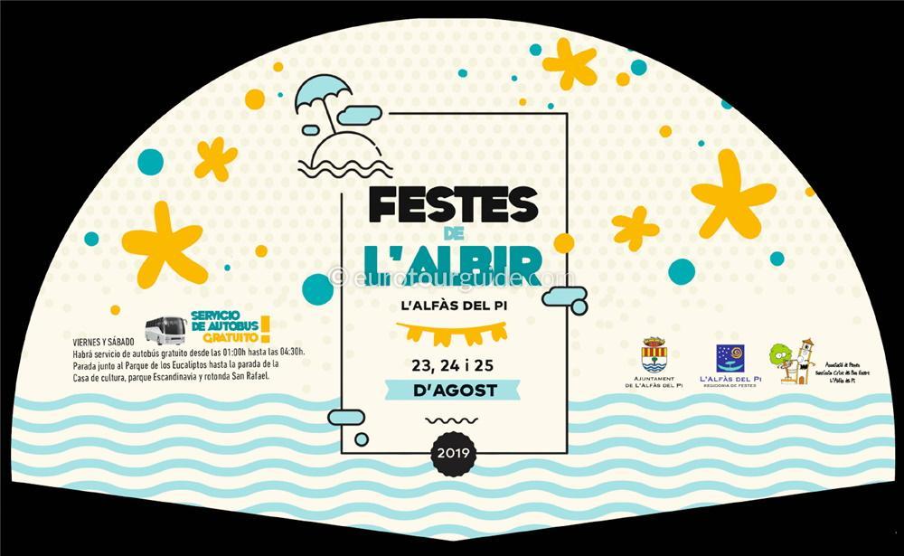 Albir Fiesta 23rd-25th August 2019