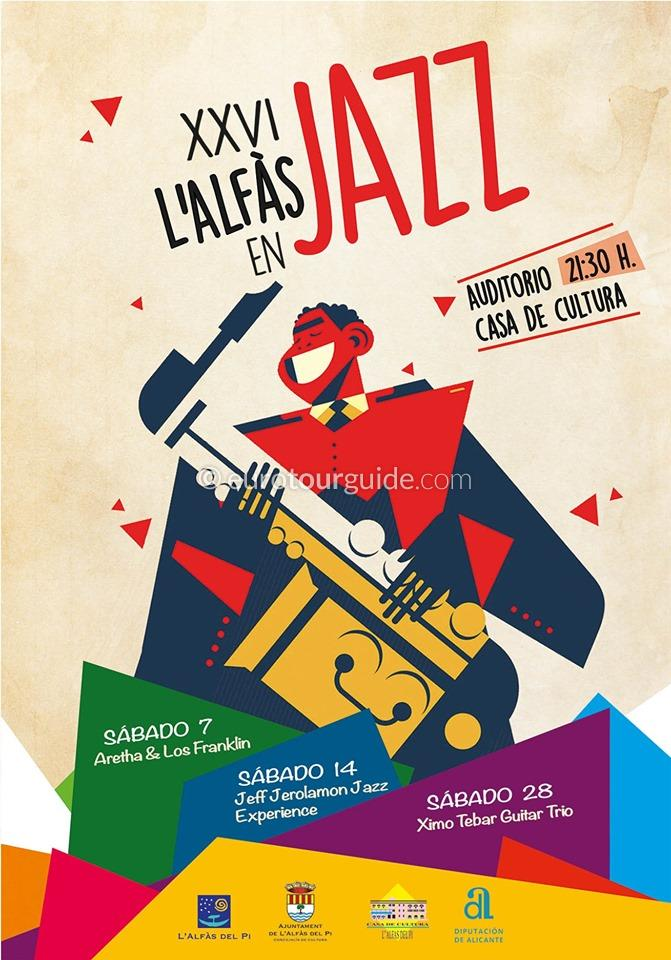 L'Alfas del Pi 26th Jazz Festival September 2019