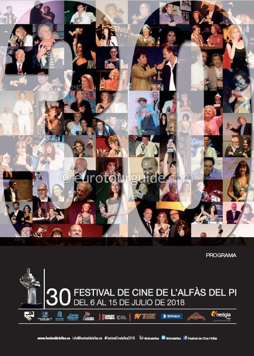 L'Alfas del Pi 30th International Film Festival 6th-15th July 2018