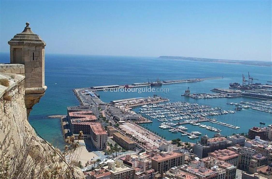 EuroTourGuide Coach Tour 23rd November Saturday in Alicante City