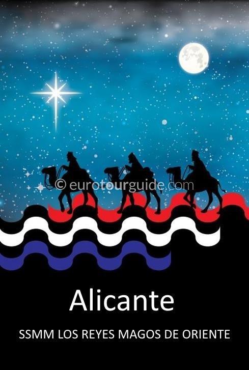 Alicante Three Kings 5th January 2020