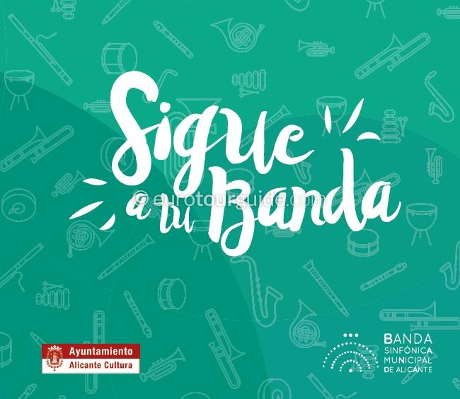 Alicante Free Band Concerts on the Explanada Summer 2018