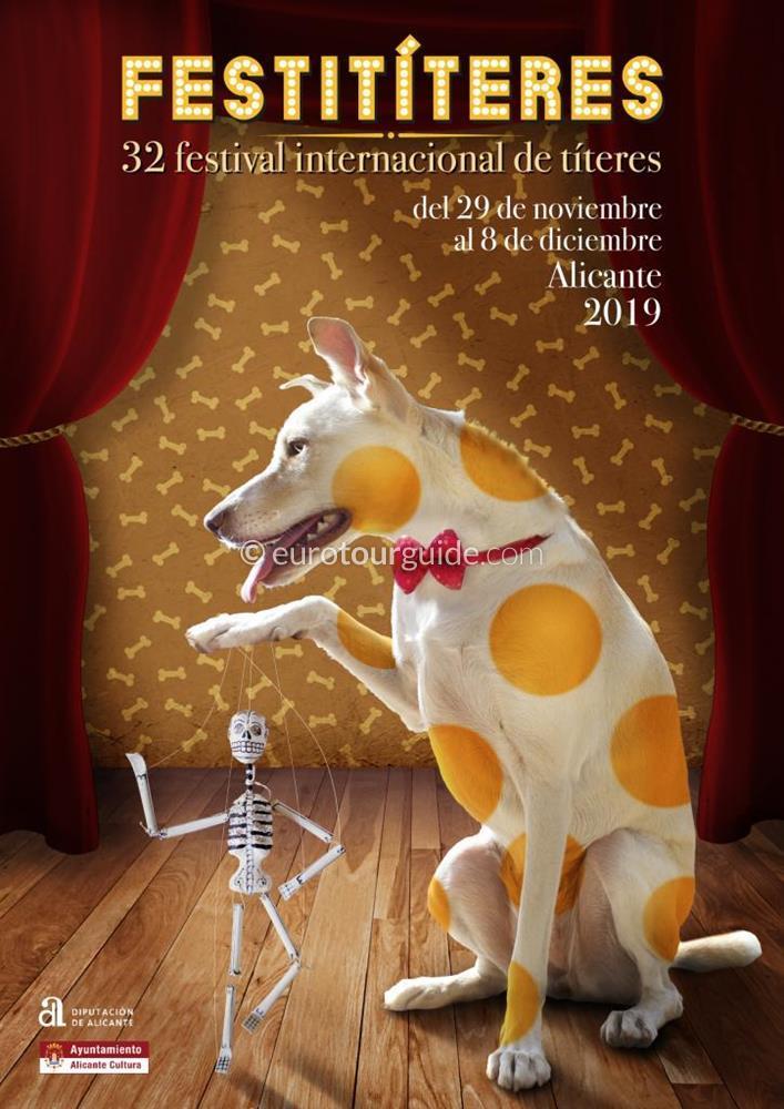 Alicante 32nd International Puppet Festival 29th November - 8th December 2019