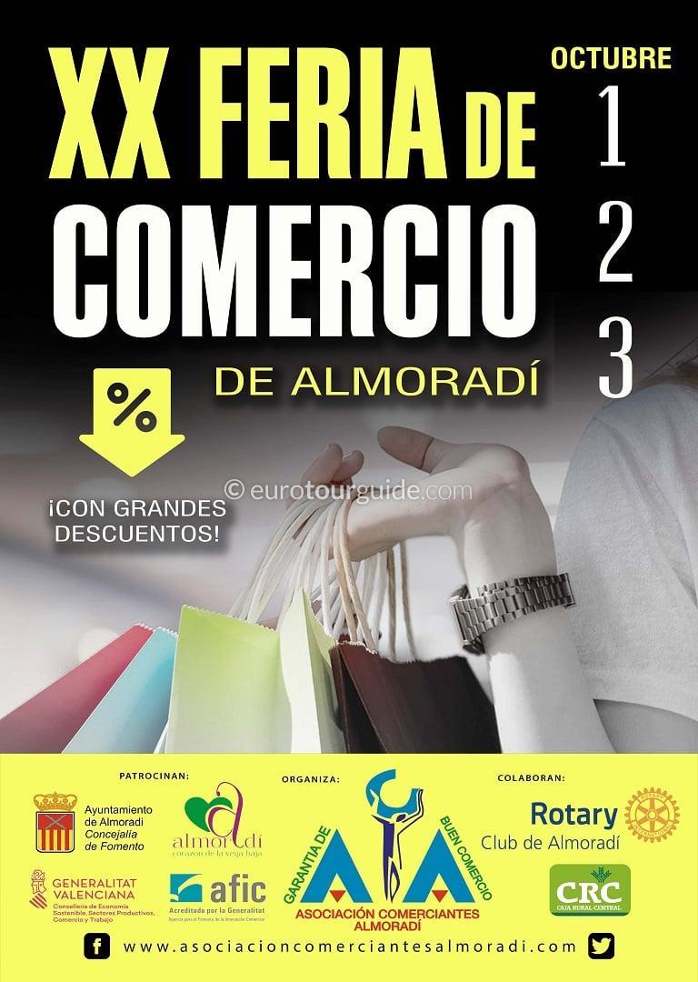 Almoradi Autumn Discount Shopping Fair 1st-3rd October 2021