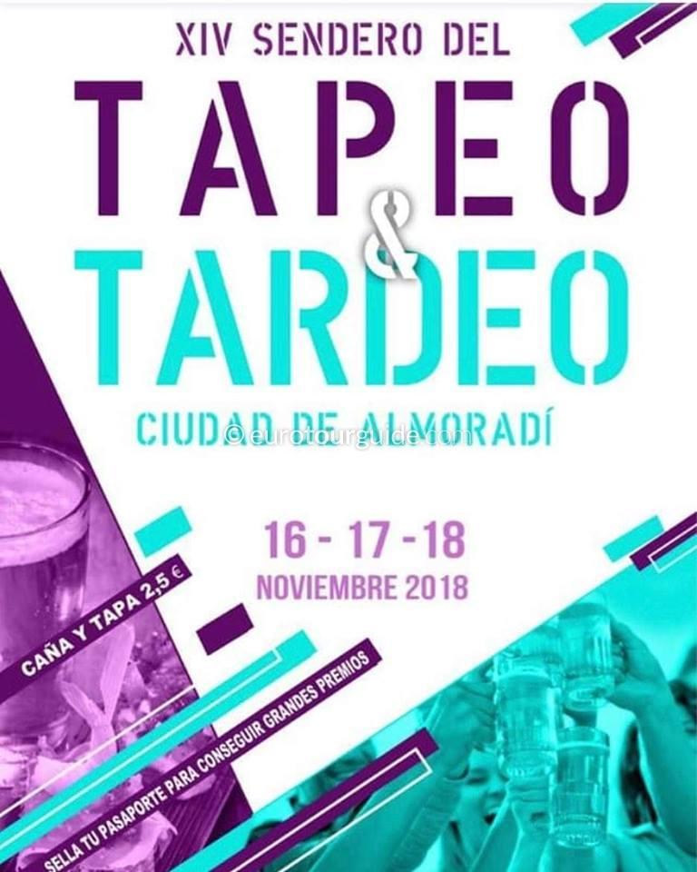 Almoradi 14th Tapas Path 16th-18th November 2018