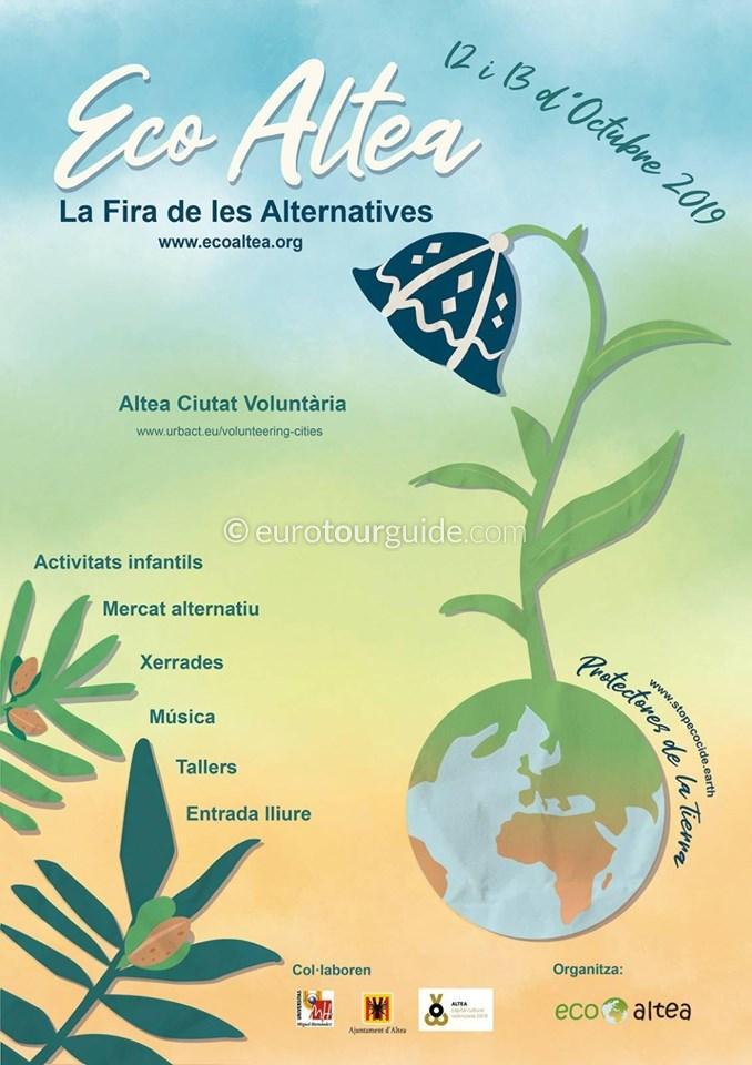 Altea Eco Fair EcoAltea 12th & 13th October 2019