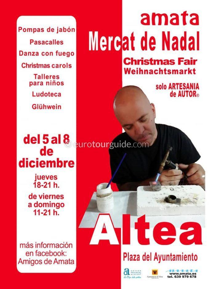 Altea Christmas Market 5th-8th December 2019