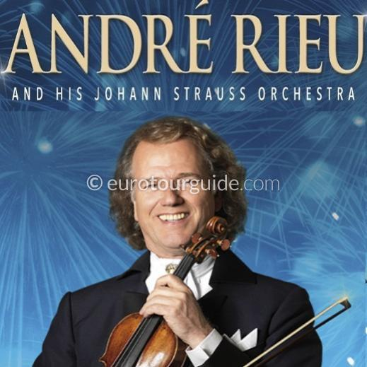 EuroTourGuide Coach Tour Andre Rieu Madrid 1 Night 13th-14th November 2019