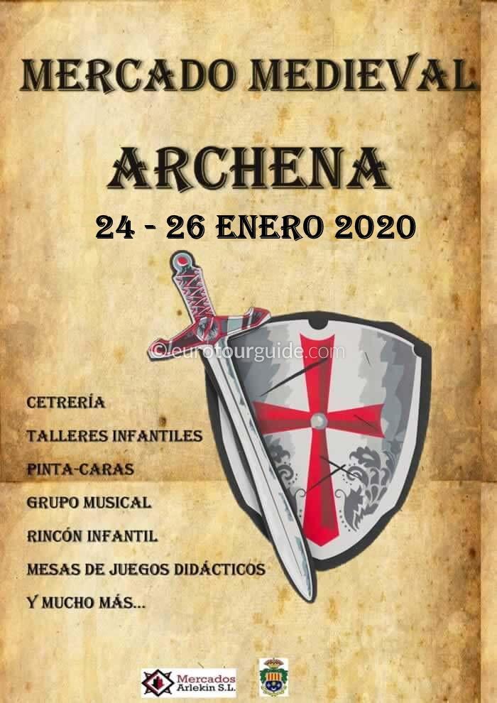 Archena Medieval Market 24th-26th January 2020