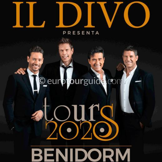 EuroTourGuide Coach Tour 4th July Il Divo Benidorm