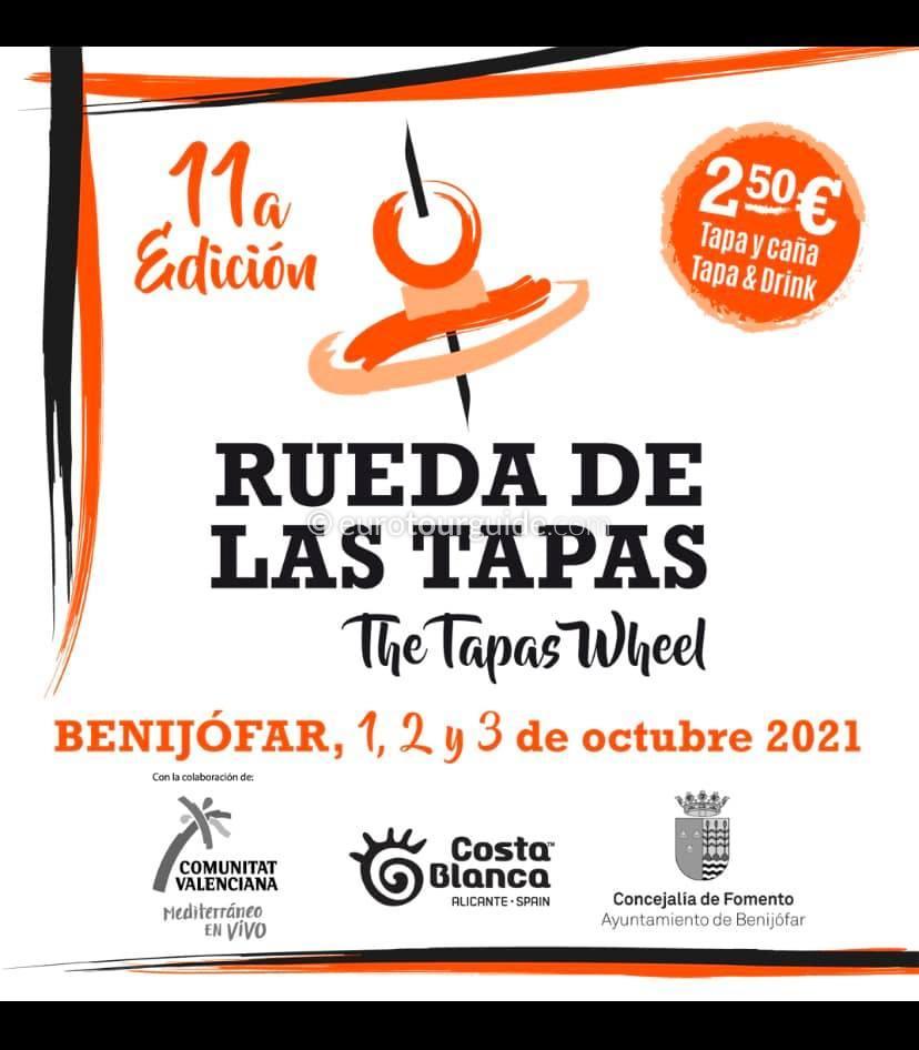 Benijofar 11th Tapas Route 1st-3rd October 2021