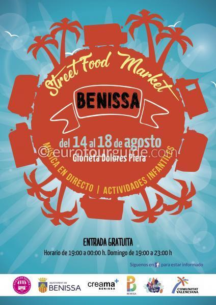 Benissa Food Trucks Street Food Market 14th-18th August 2019