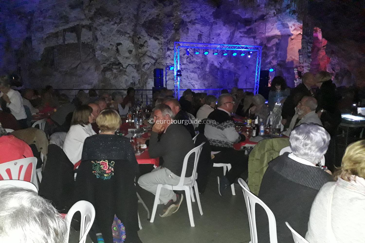 EuroTourGuide Coach Tour 15th February Busot Bocelli & Dion Tribute Cave Concert