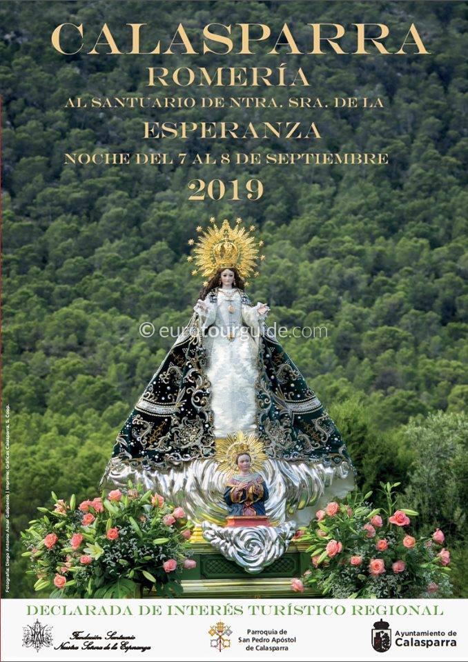 Calasparra Feria & Romeria Señora De La Esperanza 7th September 2019