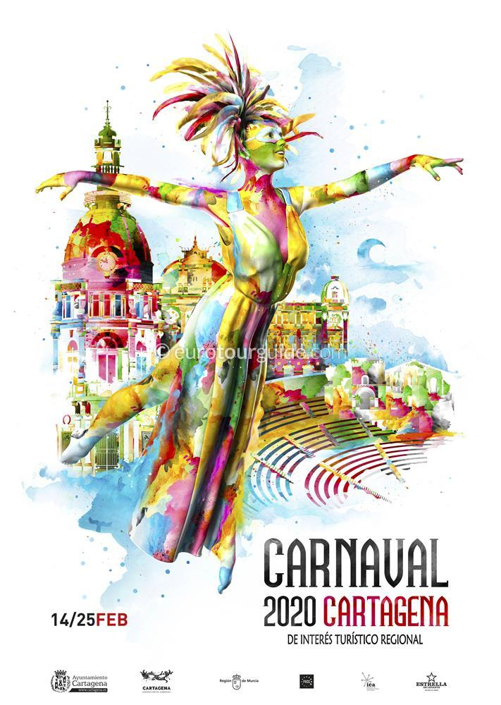 Cartagena Carnaval Programme in English for 2020