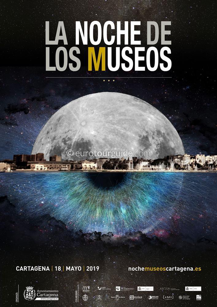 Cartagena 11th Museum Night 18th May 2019