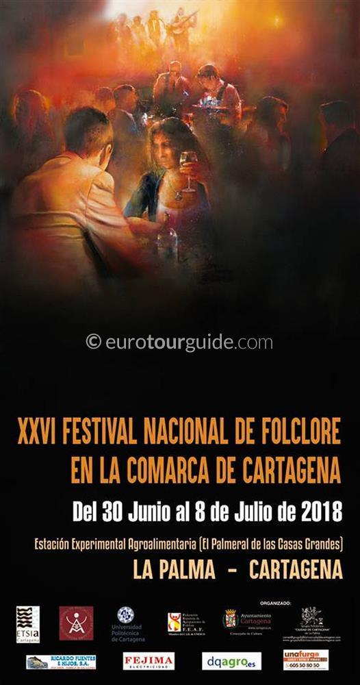 Cartagena La Palma 36th National Folk Festival 7th July 2018