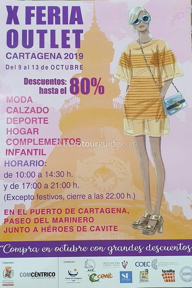 Cartagena 10th Discount Shopping Fair 9th-13th October 2019