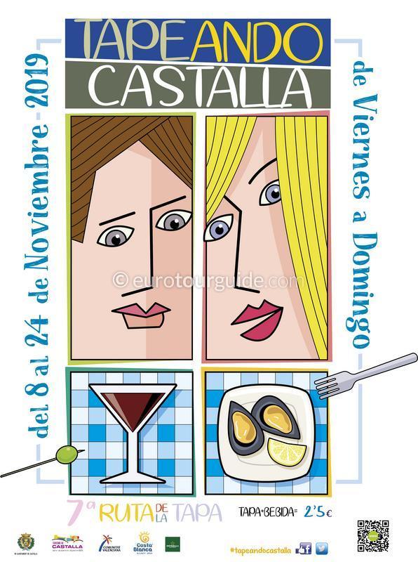 Castalla 7th Tapas Route 8th-24th November 2019