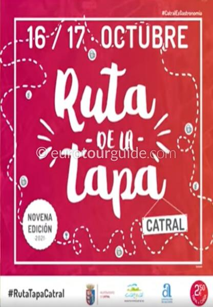 Catral 8th Tapas Route 16th & 17th October 2021