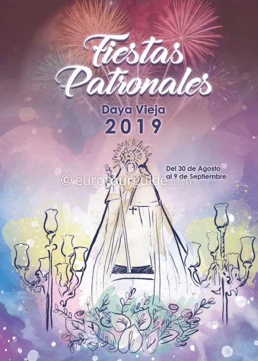 Daya Vieja Fiesta Virgen de Monserrate 30th August - 9th September 2019