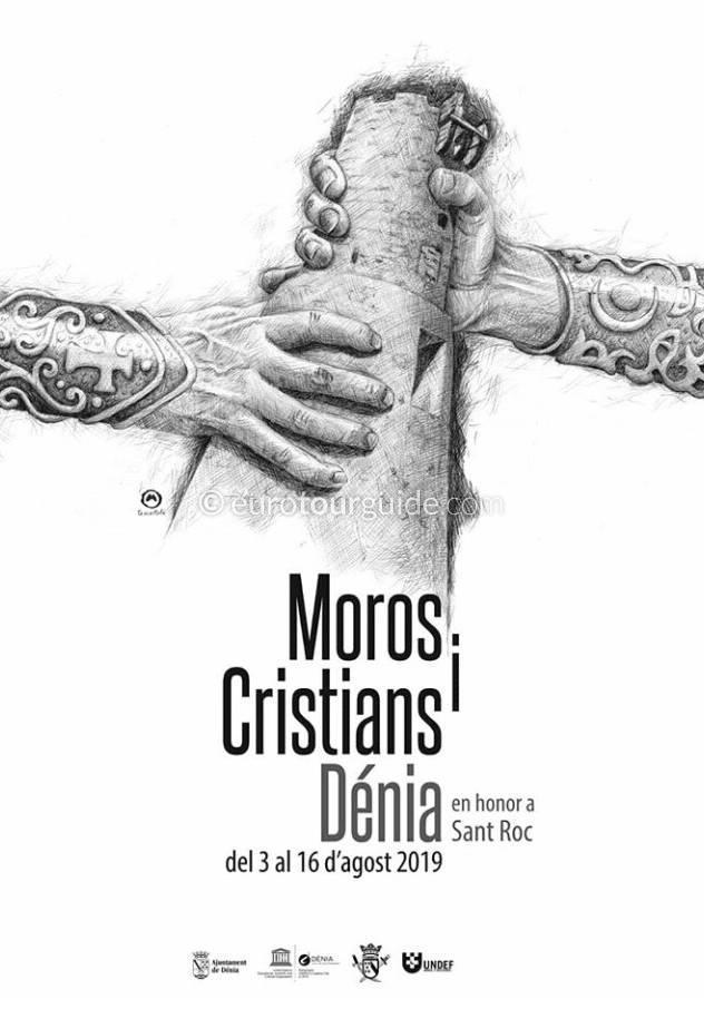 Denia Fiesta Moors and Christians Sant Roc 3rd-16th August 2019
