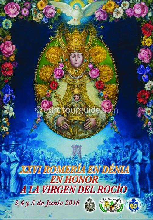 Denia Rocio Romeria 3rd-15th June 2016