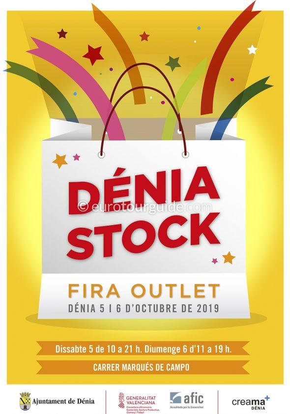 Denia Discount Shopping Fair 5th & 6th October 2019