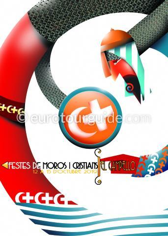 El Campello Moros y Cristianos Fiesta 8th-15th October 2019